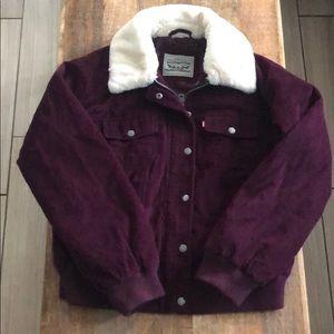 Levi corduroy Sherpa jacket